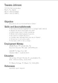 Good Resume Examples For First Job Inspiration Sample Resume Templates Free Samples Job Of For First Examples R