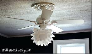 replacement glass shades for ceiling fan lights light regarding fans decor 9
