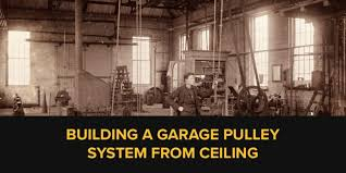 garage pulley system from ceiling