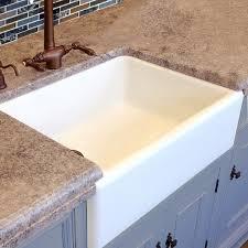 30 white farmhouse sink. HighPoint White Fireclay Farm Sink In 30 Farmhouse