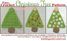 Crochet Christmas Tree Pattern Gorgeous Easy Crochet Christmas Tree Pattern Knitting And Crochet
