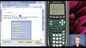 solve polynomial inequalities with the ti 83 84 graphing calculator you