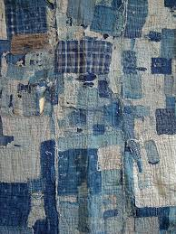 252 best Stitched boro sashiko images on Pinterest | Books ... & Japanese Boro Cloth from Sri Gallery Adamdwight.com