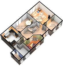 d plan view rendering d home design plans software        House Floor Plan Design