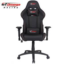 Black leather office chair Swivel Gt Omega Racing Usa Official Website Gt Omega Pro Racing Gaming Office Chair Black Leather