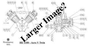 hemingway kits the aero v twin l w chenery aero v twin drawings construction notes