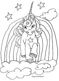 Unicorno Kawaii Da Colorare Portalebambini