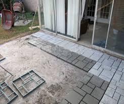 diy concrete mold patio best driveway paving pavement mold patio concrete stepping stone