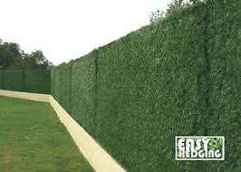 image is loading artificial conifer hedge fence garden wall privacy screening  on green garden wall artificial with artificial conifer hedge fence garden wall privacy screening 3m fake