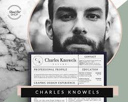 Ms Resume Charles Knowels Resume 5 Pack For Ms Word And Apple Pages Stand