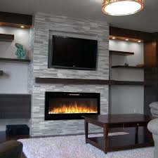 wall fireplace costco electric