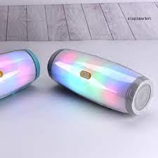 Loa Bluetooth Không Dây Tg165 Có Đèn Led Chất Lượng Cao - Loa Bluetooth