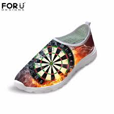 Designer Darts Us 16 99 32 Off Forudesigns Mens Flats Shoes Sneakers Summer Fashion Fire Darts Brand Designer Men Casual Shoes Super Light Comfortable Zapatos In