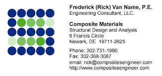 Resume Of Rick Van Name P E