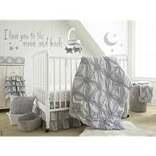 baby willow 5 piece crib bedding set