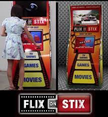 Movie Vending Machines Magnificent Flix On Stix Vending Machine Copies Movies To Thumb Drives WIRED