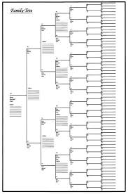 Family Tree Chart Online Online Shoppers Universe Family Tree Chart 18x24 Genealogy