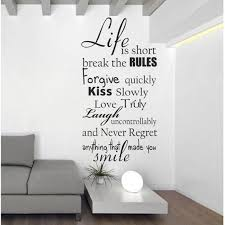 wall decal sticker vinyl lettering and