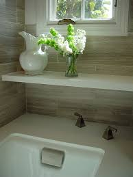 travertine tile bathroom. Image By: Mike Connell Travertine Tile Bathroom I