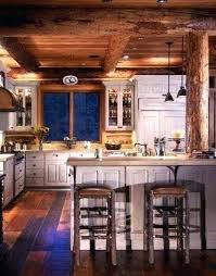 Cabin kitchen design Wood Log Home Kitchen Designs Log Home Kitchens Gallery Log Cabin Kitchen Love The Distressed White Butlerrevieworg Log Home Kitchen Designs Shawntrailco