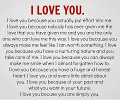 I LOVE YOU I Love You Because You Actually Put Effort Into Me I Love Inspiration I Love You Because
