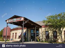 ILLINOIS Aurora Walter Payton Roundhouse restaurant and meeting Stock Photo  - Alamy