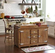 Rustic portable kitchen island Workbench Outstanding Movable Kitchen Islands With Barstool And Hardwood Flooring Also White Kitchen Cabinet Furniture Decor And Interior Design Furniture Outstanding Movable Kitchen Islands With Barstool And
