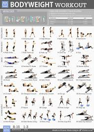 Marine Fitness Chart Gym Home Exercise Posters Set Of 5 Workout Chart Large 19