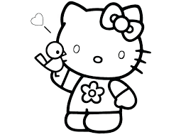 Hello Kitty Coloring Pages That You Can Print Free Printable