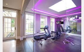 home gym lighting. Special LED Lights At The Home Gym Lighting O