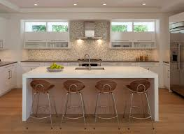 image of waterfall countertop edge photos