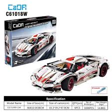 Lepinblocks Cada C61018 Lp610 Super Car Technology Racing Sueper Car Compatible With Assemble Building Blocks Model Toys Gifts