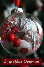 Decorating Clear Christmas Balls Awesome Decorated Clear Glass Christmas Balls Happy Hooligans
