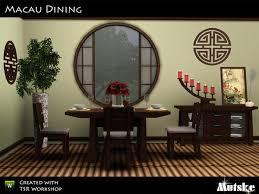 sims 3 cc furniture. Macau Dining Room By Mutske - Sims 3 Downloads CC Caboodle Cc Furniture
