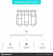 Test Tube Science Laboratory Blood Business Flow Chart