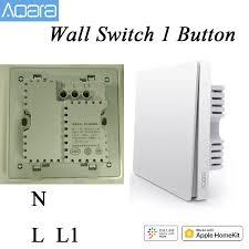 new aqara wall switch smart light wall