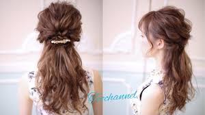 ナチュラル系花嫁さんの髪型ハーフアップヘアアレンジまとめ 花嫁 髪型