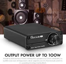 Mini Subwoofer/Full Frequenz-Monokanal-Leistungsverstärker: Amazon.de:  Elektronik