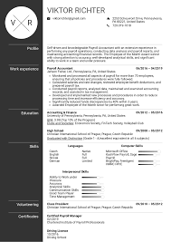 Resume Examples By Real People Payroll Accountant Resume