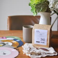 Gifts From The Kitchen Curated Coffee Vinyl Pairing 1 6 Month Gifts Turntable Kitchen