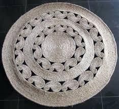 jute rug round decorative round rugs jute rug ikea canada