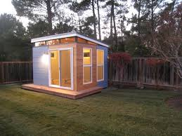 home office garden building. Incredible Prefab Home Office To Build In Your Backyard : Fascinating Small Space Design Used As Garden Building F