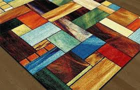 full size of multicolor area rug cerise contemporary abstract rugs furniture charming home design delectable 5x7