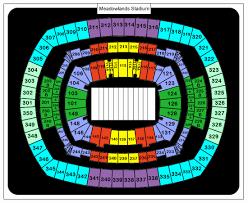 Metlife Taylor Swift Seating Chart Credible Meadowlands Stadium Seating Chart Metlife Stadium