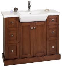 bathroom vanity single sink. Amimage 40 Inch Single Sink Bathroom Vanity Cherry Finish