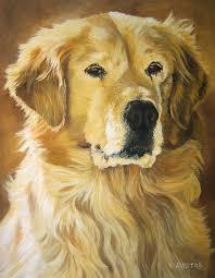 golden retrievers painting dog golden retriever print pet portrait commission painting hire artist by diane