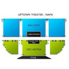 Uptown Theatre Napa 2019 Seating Chart