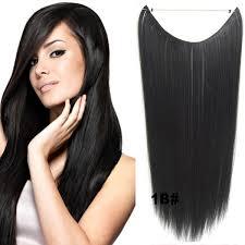 Flip In Vlasy 55 Cm Dlouhý Pás Vlasů Odstín 1b