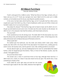 Third Grade Reading Comprehension Worksheets | Have Fun Teaching