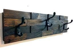 marvelous wall mounted coat hanger metal rack ikea hooks